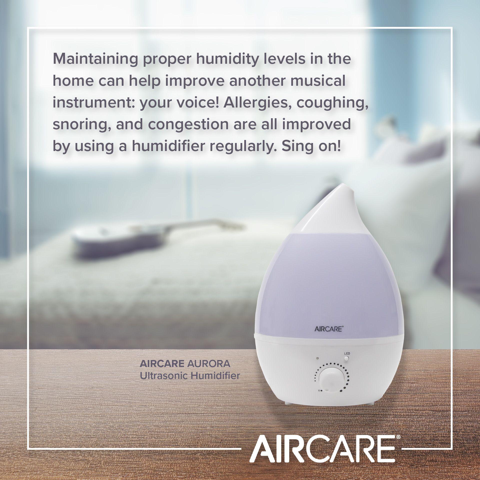 aircare humidifiers ultrasonic humidity music