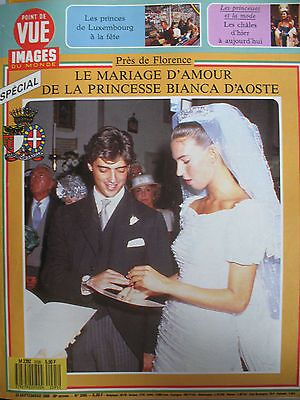 toscane mariage princesse bianca d aoste mode chales princiers point de vue 1988 in livres bd. Black Bedroom Furniture Sets. Home Design Ideas