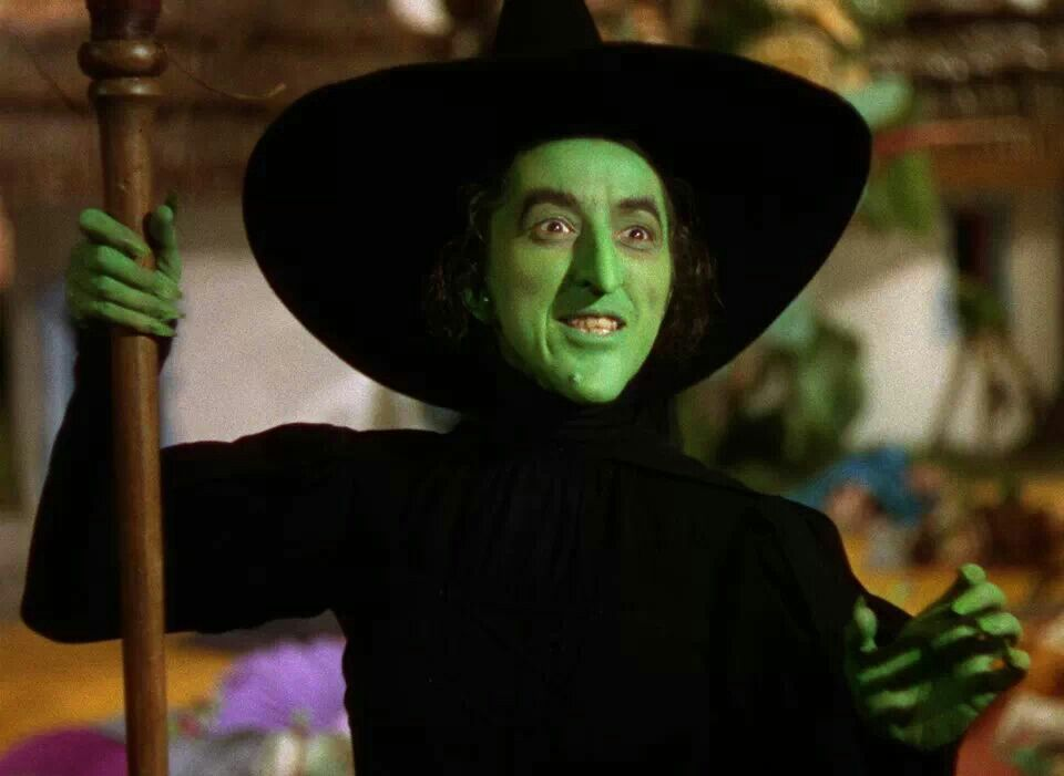 I'll get you my pretty.......and your little dog too!!!        Wicked Ol' Witch