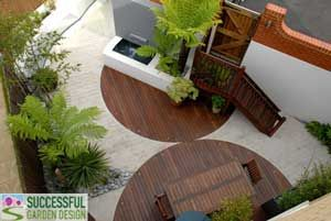Deck Mixed With Paving From Http://www.successfulgardendesign.