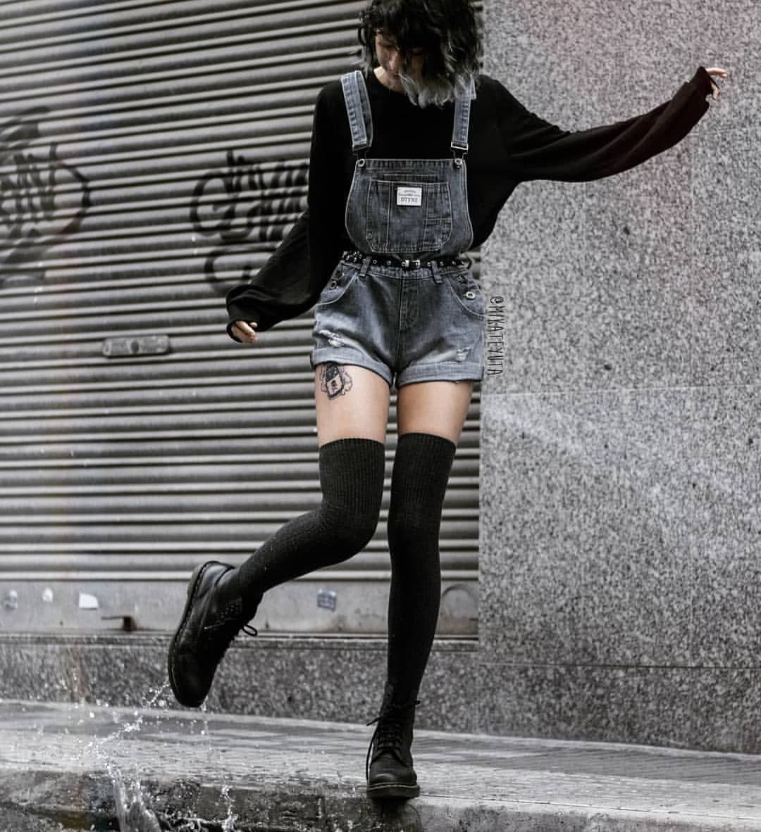 Grunge Aesthetic On Instagram Comment With Your First Letter Of Your Name Credit Mikatey Aesthetic Clothes Aesthetic Grunge Outfit Edgy Outfits