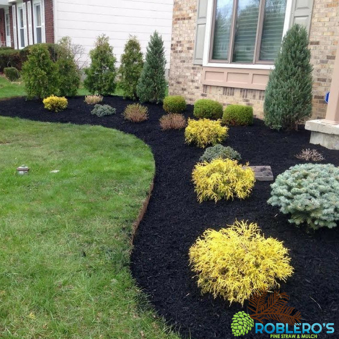 Easy Landscaping Ideas You Can Try: We Can Provide A Fresh Layer Of Mulch Or Pine Straw