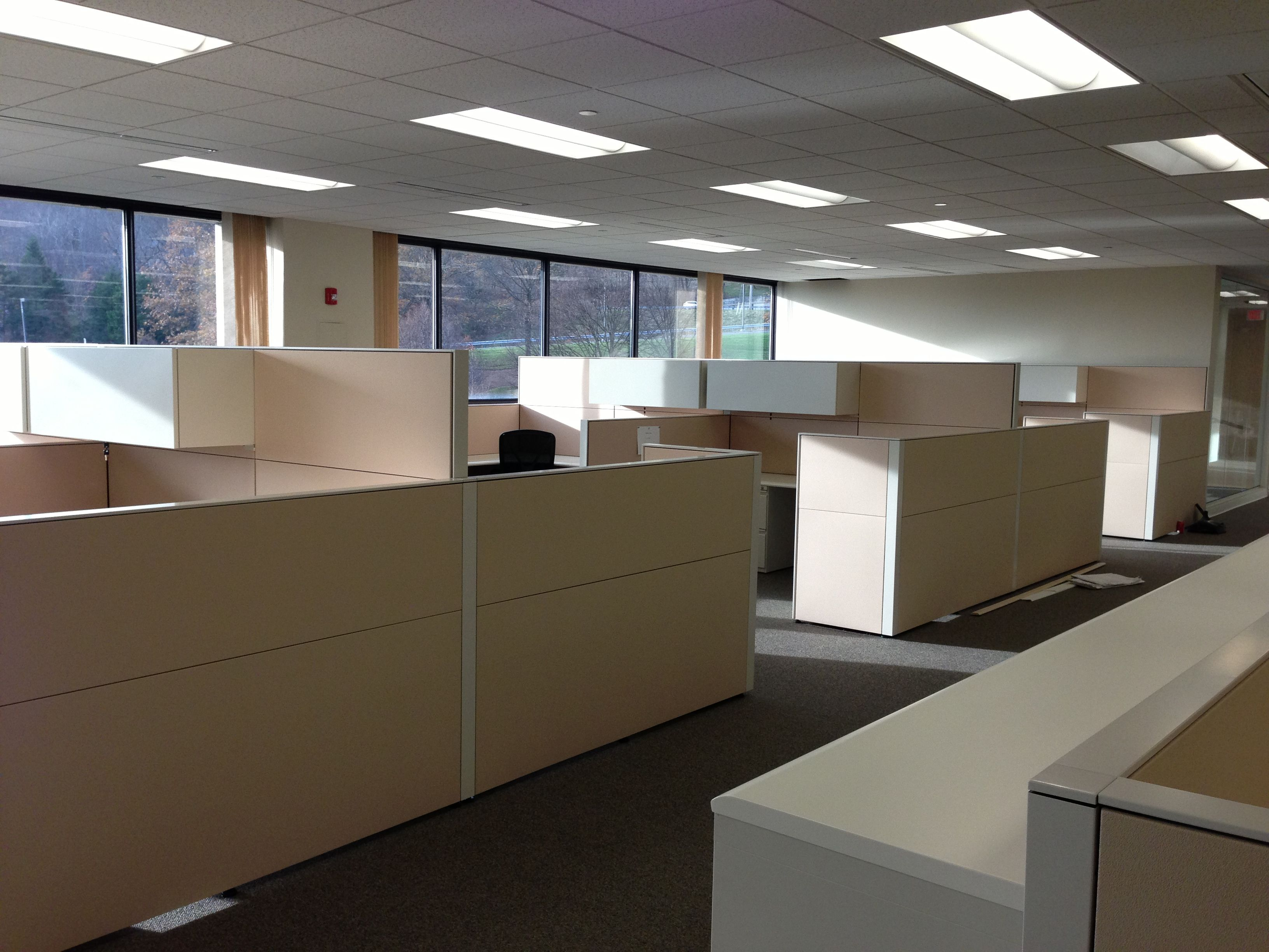 brand new office cubicles in morristown nj new projects office rh pinterest co uk