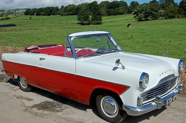 Ford Zodiac Mk2 Convertible These Were Great Cars They Had A