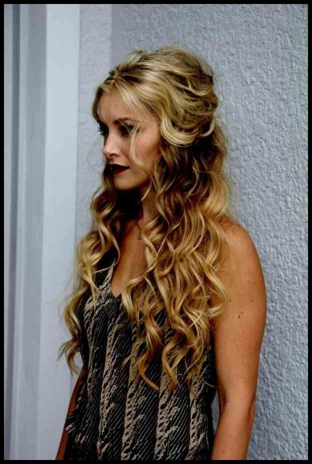 Sammlung Von Frisuren Lange Haare Selber Machen Offen Schöne