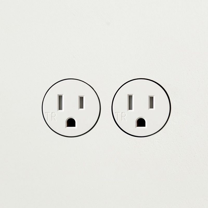 bocci 22 5 2 double power outlet - linear