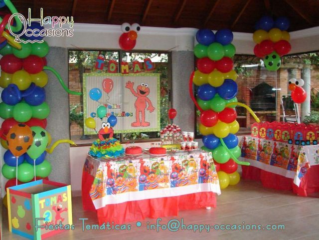 Photo 1 Of 15 Elmo Birthday Elmos Party