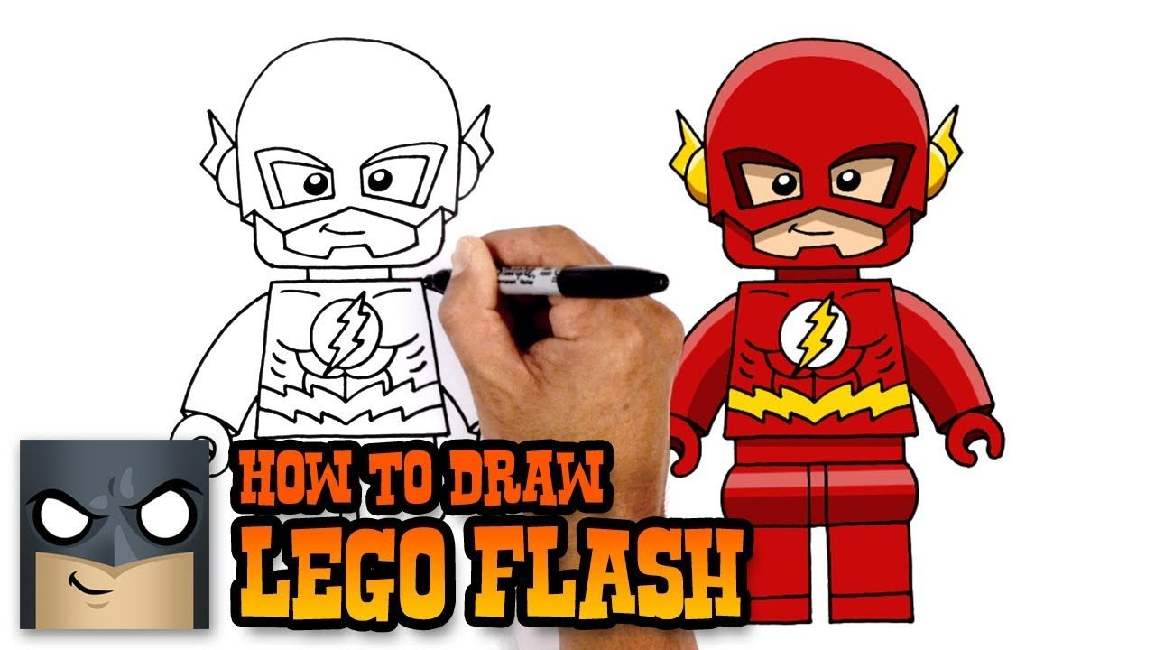 - How To Draw Lego Flash (With Images) Flash Drawing, Drawings