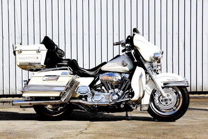 Looks like a big old Harley