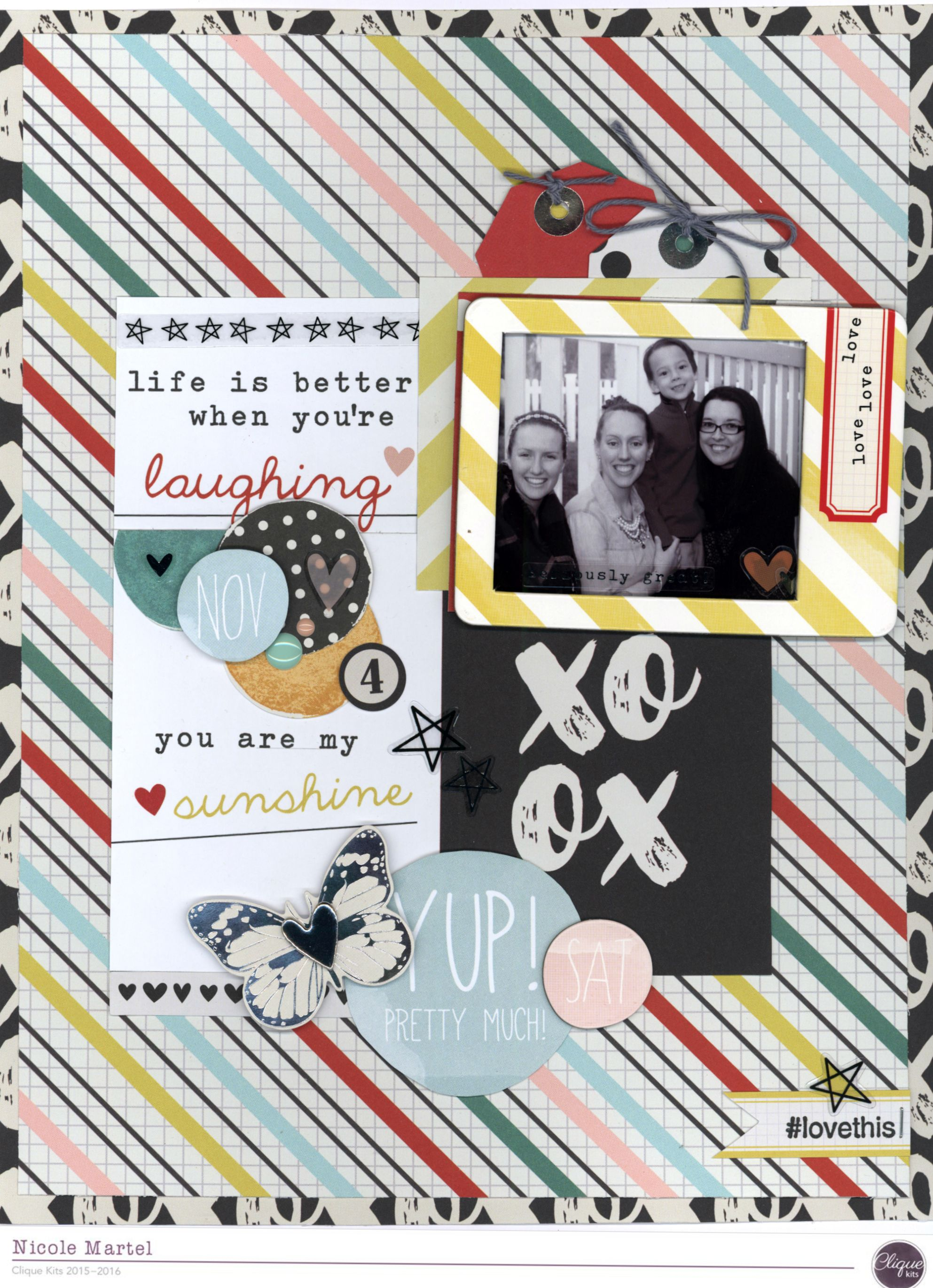 Life+is+better+when+you're+laughing - Scrapbook.com