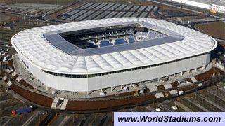 World Stadiums Wirsol Rhein Neckar Arena In Sinsheim Football Stadiums Soccer Stadium Stadium