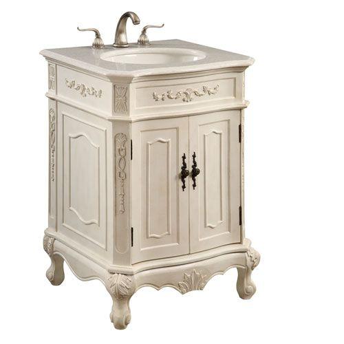 Antique White Vanity Cabinet Only Elegant Lighting Vanities Bathroom