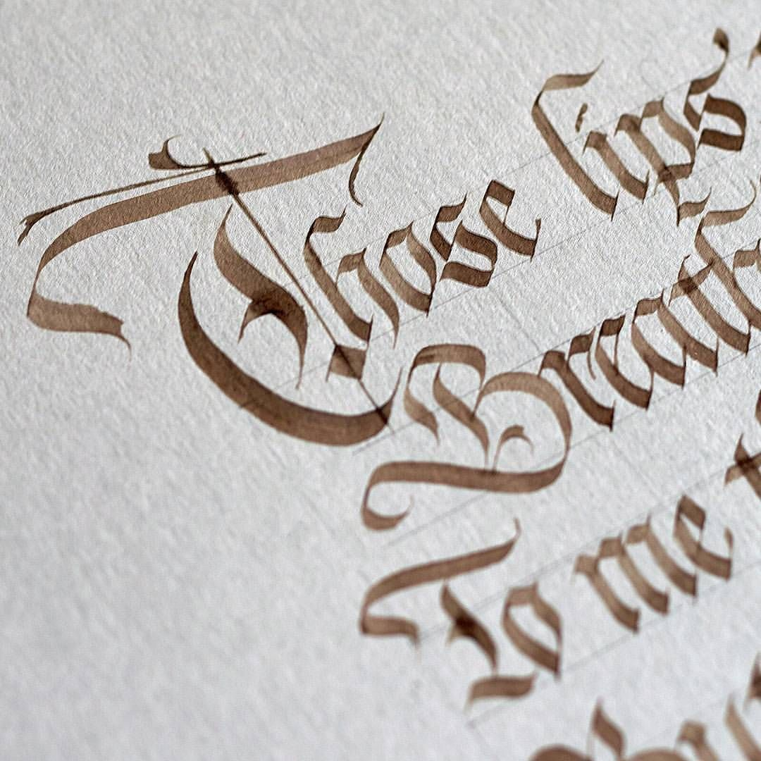 Those lips in walnut ink.... working on a piece for the exhibition. #calligraphy…