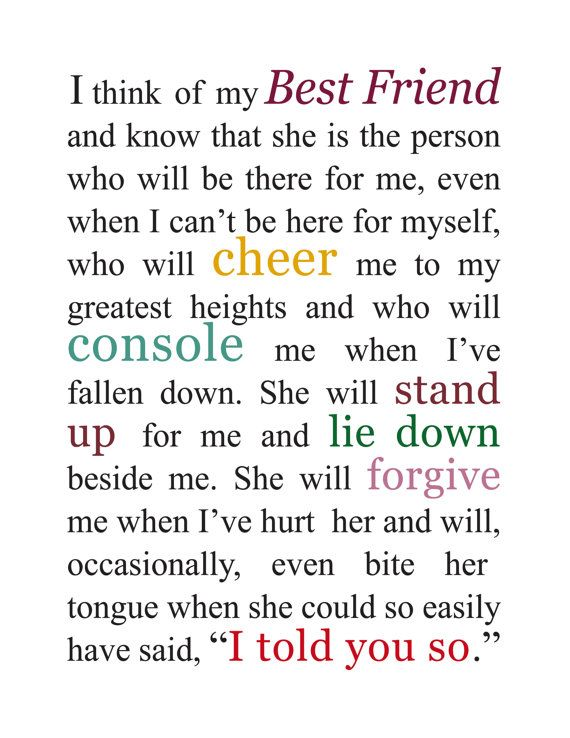 Pin by Jessica Sharp on Quotes | Best friend quotes, Friend quotes