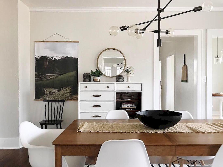 75 Modern Mid Century Dining Room Table Ideas | Mid ...
