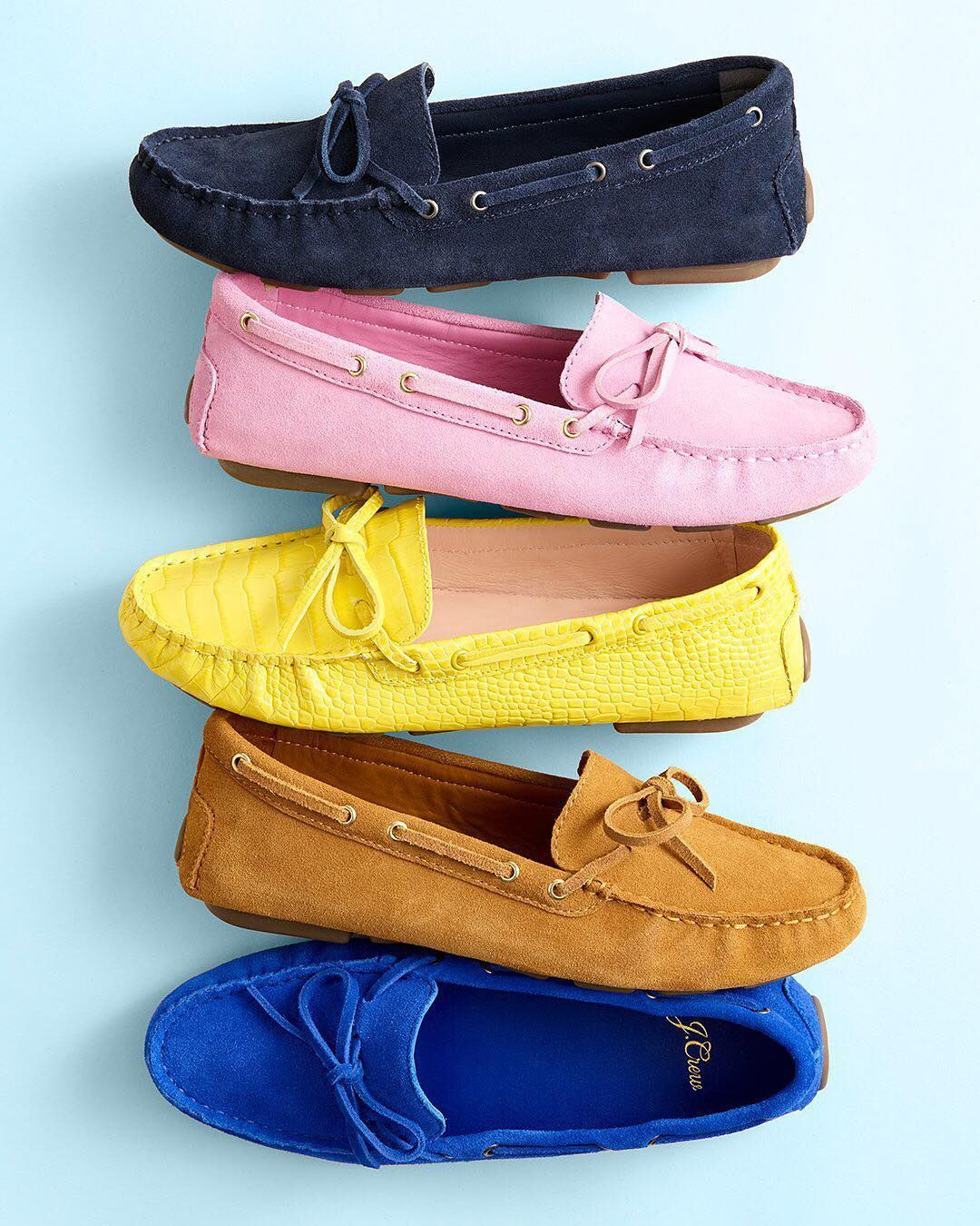 """b81035ee1f9 J.Crew on Instagram: """"Care to take our new driving moccasins for a ..."""