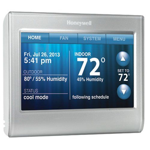Honeywell Smart Thermostat Wifi Touchscreen Works With Amazon Alexa Read More Reviews Of The Product By Vi Smart Thermostats Thermostat Honeywell Thermostats