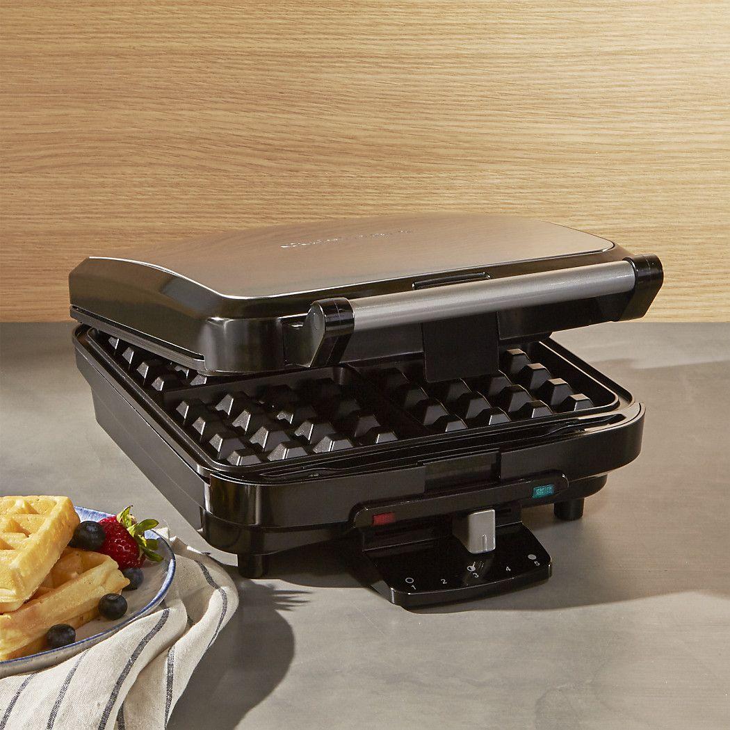 Cuisinart 4slice belgian waffle maker belgian waffle