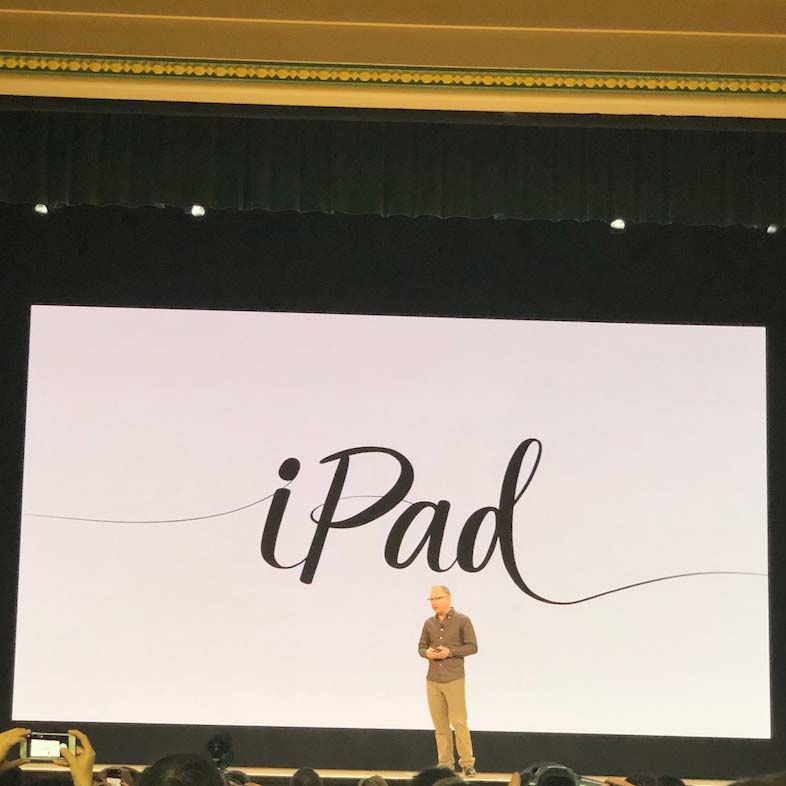 Apple Introduces New iPad with Apple Pencil Support