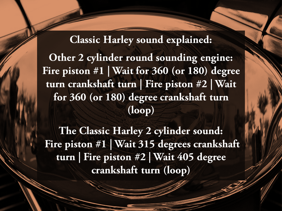 Quick overview of how Harley run to make the intermittent cycle sound #harley #motorbike