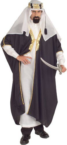 Arab Sheik Halloween Costume for Adults  sc 1 st  Pinterest : sheik halloween costume  - Germanpascual.Com