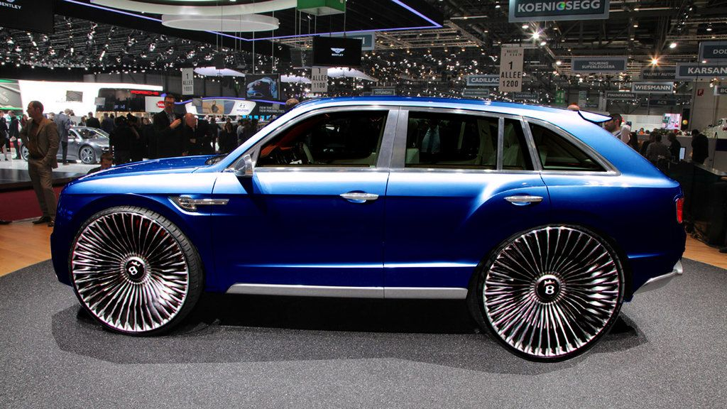 Bentley Suv By Raymondpico On Deviantart