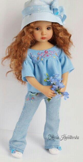 Épinglé par Carole Turman sur American Doll   Pinterest   Robe de poupée,  Vetement poupee et Robe de 94f724d016a