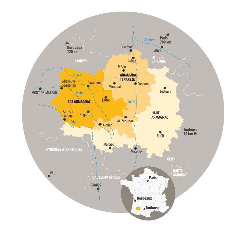 Vineyard Gascogne Armagnac Vins Mont De Marsan Et Alcool