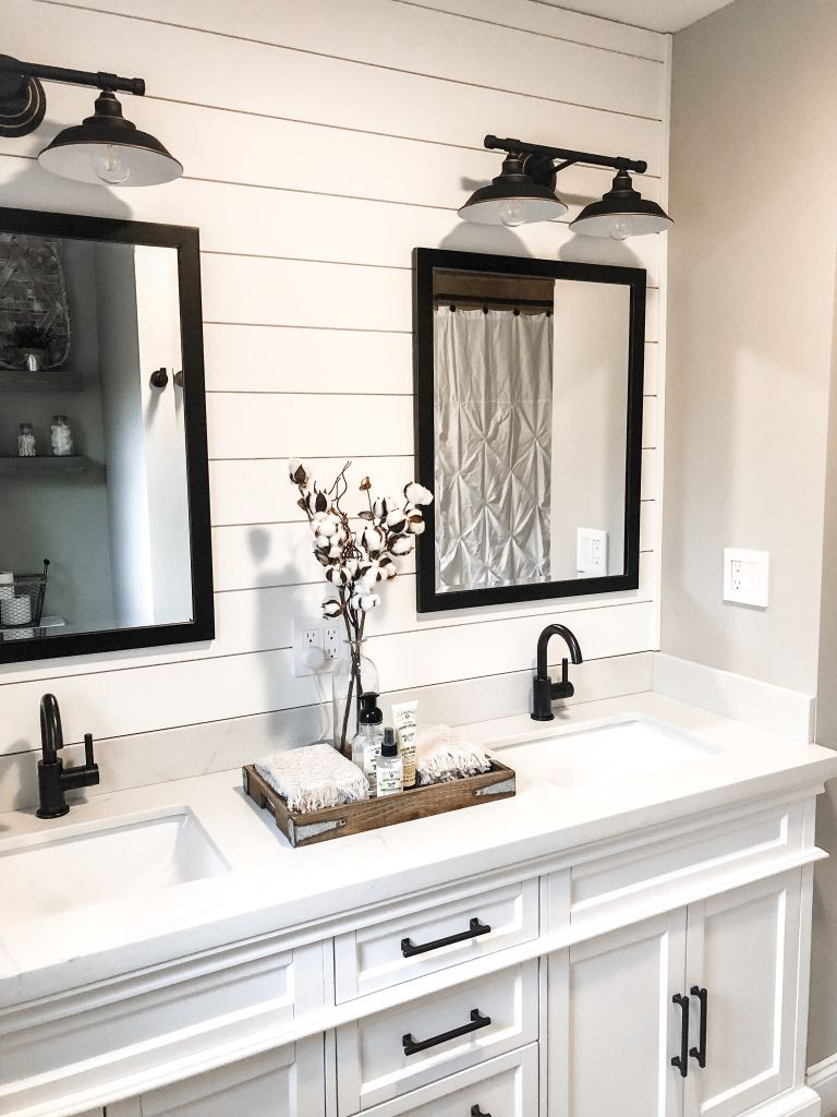 Photo of Modern Farmhouse Bathroom Remodel