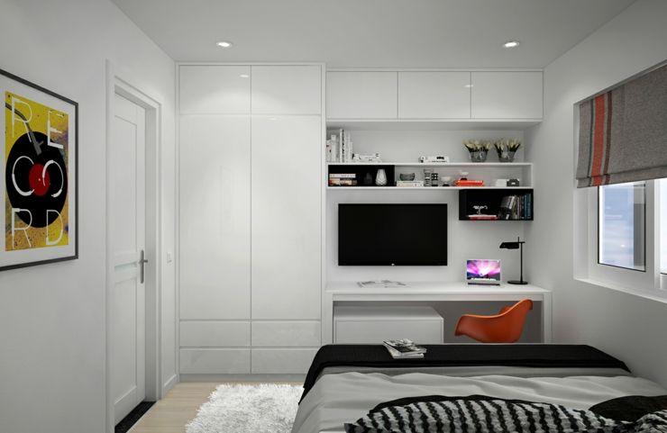 Appartement citadin meublé selon les principes du design ...