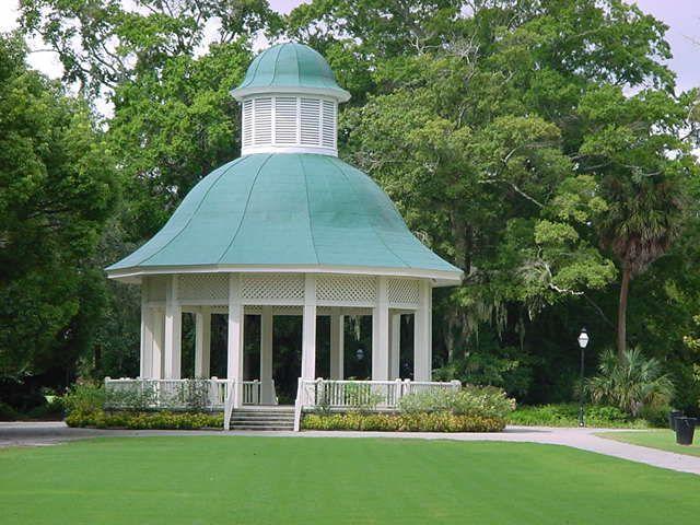 Hampton Park Gazebo (Charleston, SC) | Charleston beaches, Gazebo,  Charleston