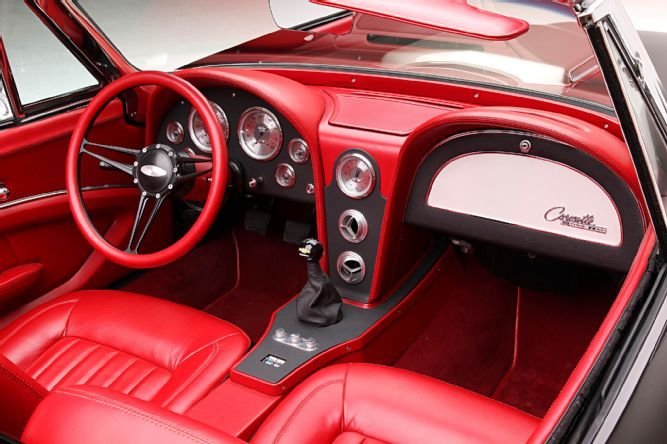 C2 Corvette Convertible Ls3 Dominator Lopez Fudge Interior