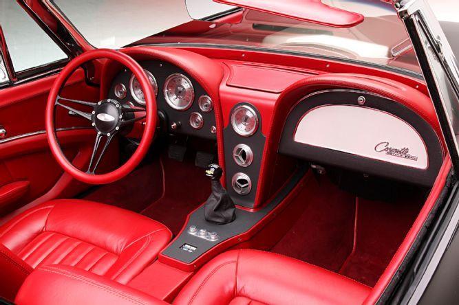 C2 Corvette Convertible Ls3 Dominator Lopez Fudge Interior 1965 Corvette Corvette Convertible Vintage Corvette