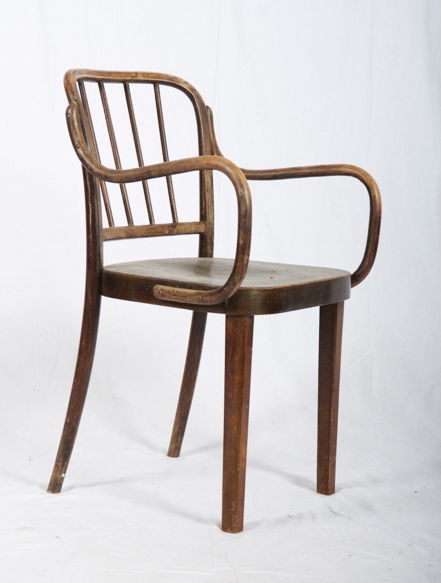 No 63 Beech Armchair By Josef Frank For Thonet 1930s 3 Armchair Chair Wooden Chair