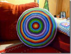 Häkelkissen Rund Anleitung Yarn Pinterest Crochet Crochet
