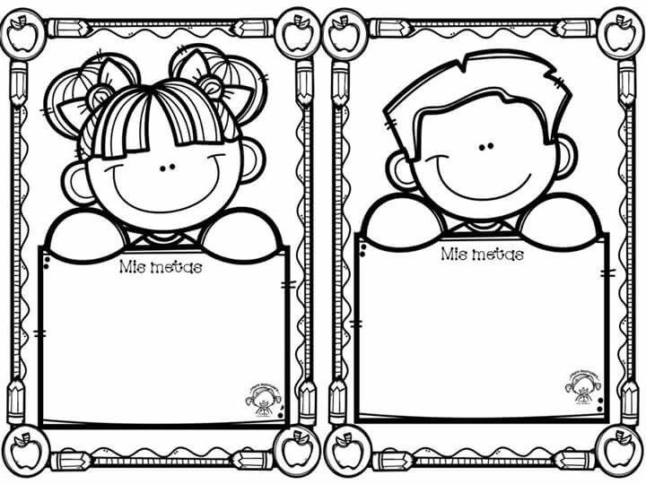 Pin De Salena Sue Harris Bryant En Printables Dibujos Para Preescolar Dibujo De Escuela Actividades Escolares