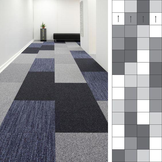 Multi Colored Rectangle Pattern Carpet Carpet Tiles Design Carpet Tiles Textured Carpet