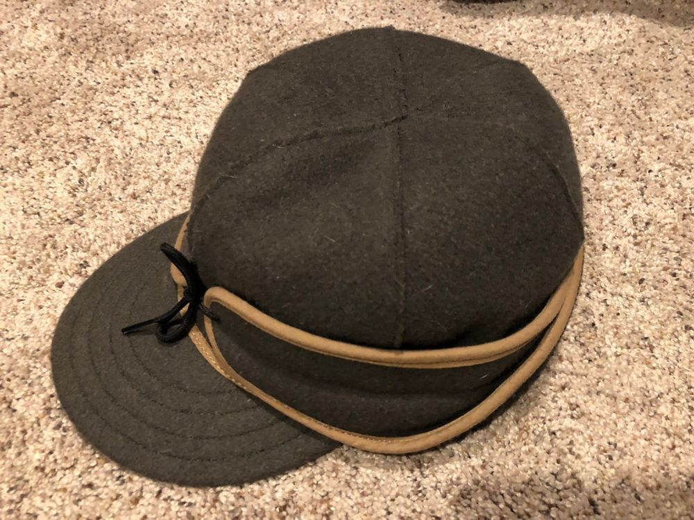 STORMY KROMER WOOL RANCHER HAT SIZE 7 3 8 IN EXCELLENT COND  f26f6b87b69