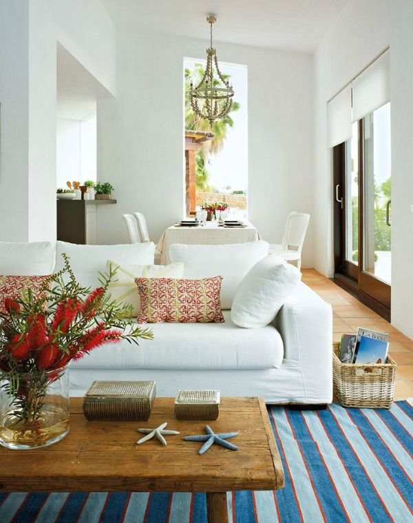 How to Design with clean, crisp lines along with a Mediterranean ...