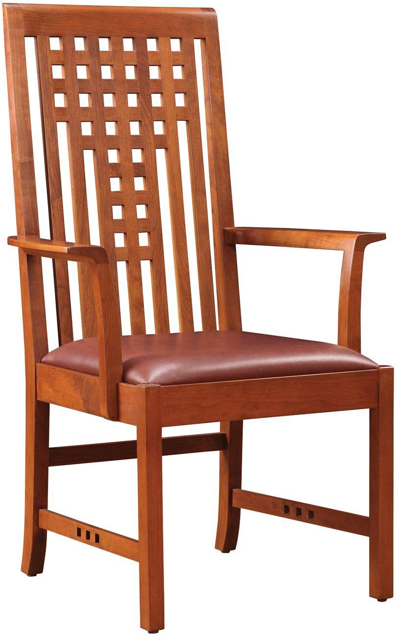 Stickley Lattice Dining Chair Stickley Furniture Craftsman Style Furniture Craftsman Furniture