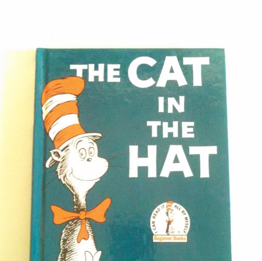 Dr. Seuss The Cat In The Hat Vintage Children's Books (4.99 USD) by RobinsTime