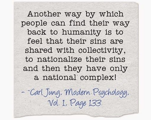 Carl Jung, on gazing into the face of absolute evil - Jung