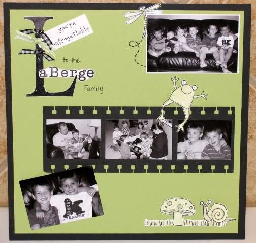 Friends Farewell Scrapbook Page By Kllaberge Cards And Paper