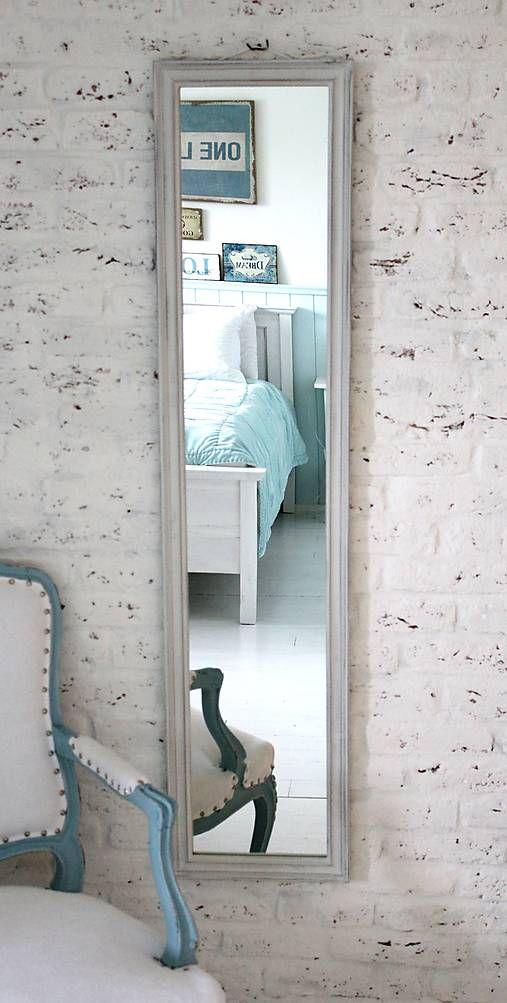 Zrkadlo Henrieta OLD WHITE 140x32cm