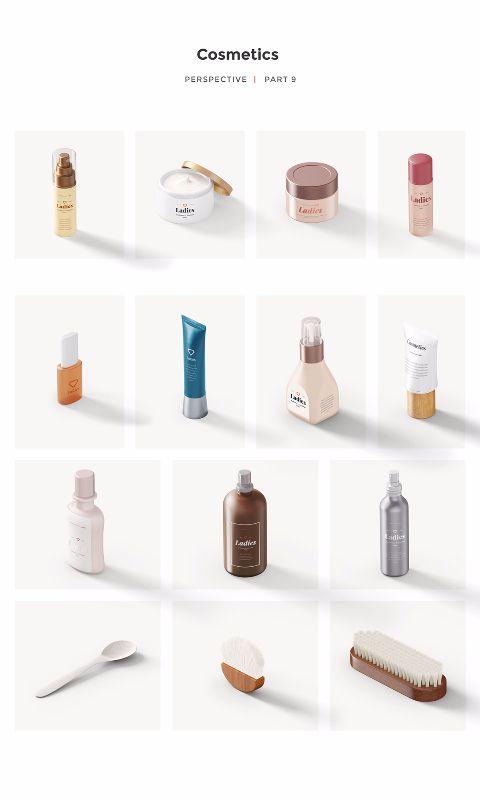 Download Cosmetics Mockup Scene Generator Yellowimages