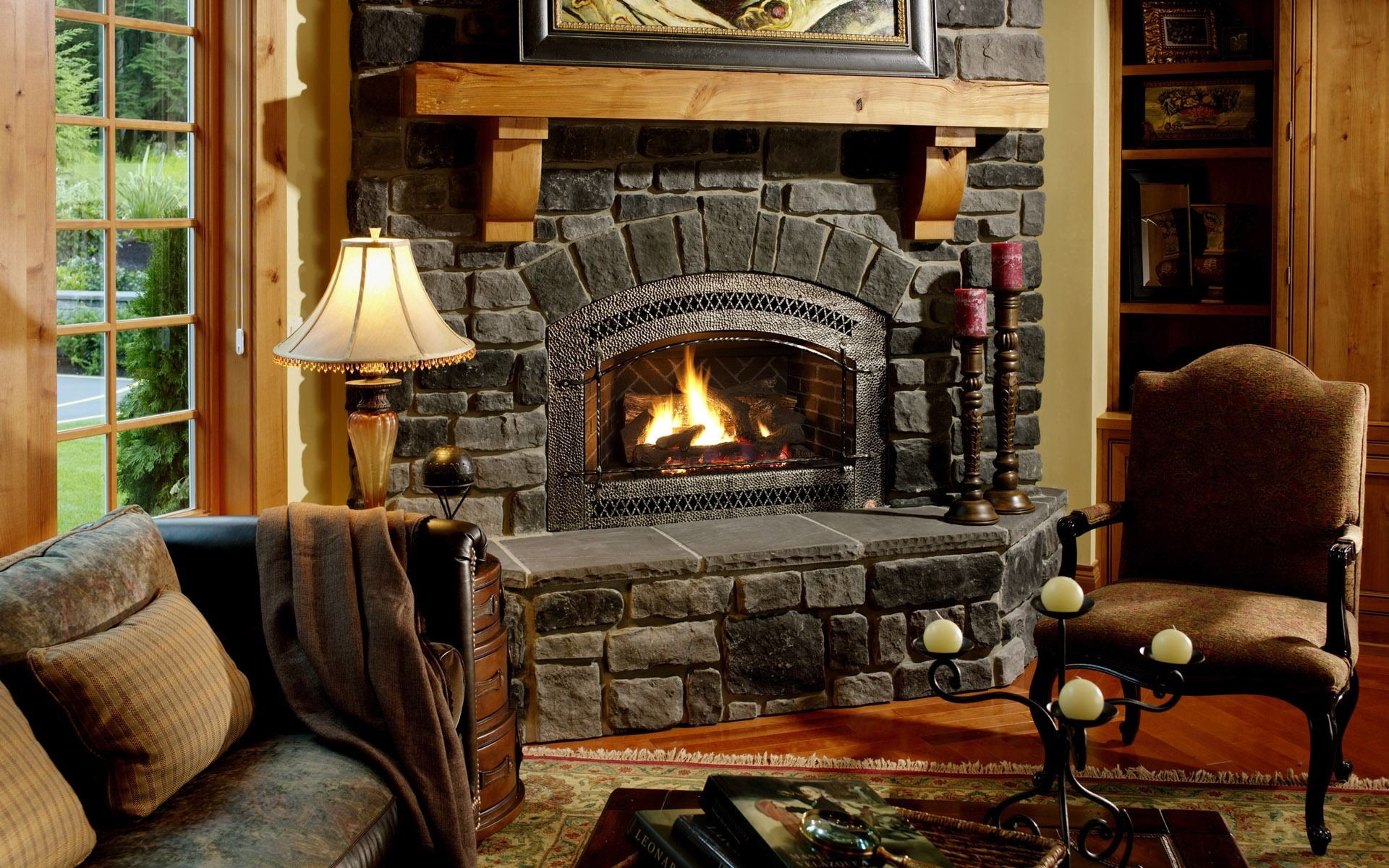 Cozy Living Room With Fireplace Whohkmke  Home Is Where My Heart Impressive Living Rooms With Fireplaces Design Ideas