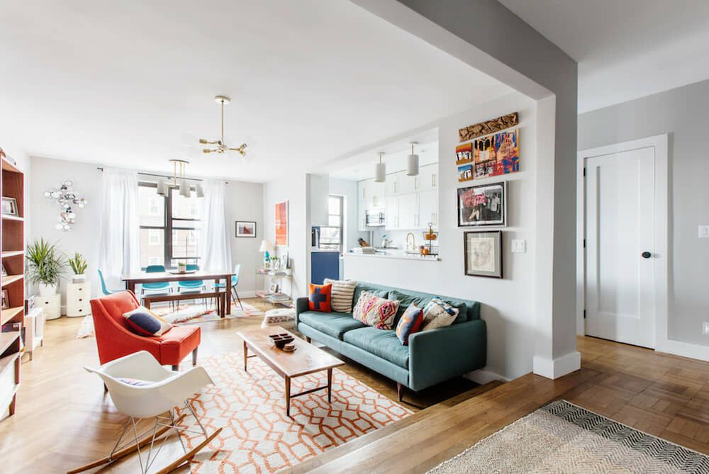 An Apartment Renovation In Kensington Brooklyn Transforms The