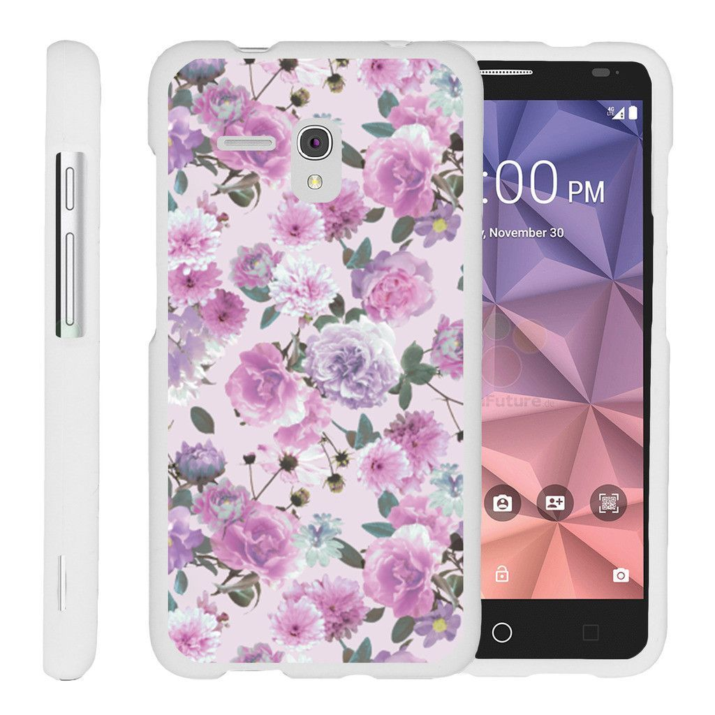 Alcatel One Touch Fierce XL Case for girls][Snap Shell] Hard