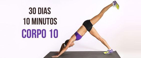 Desafio fitness de 4 semanas para transformar todo o seu corpo