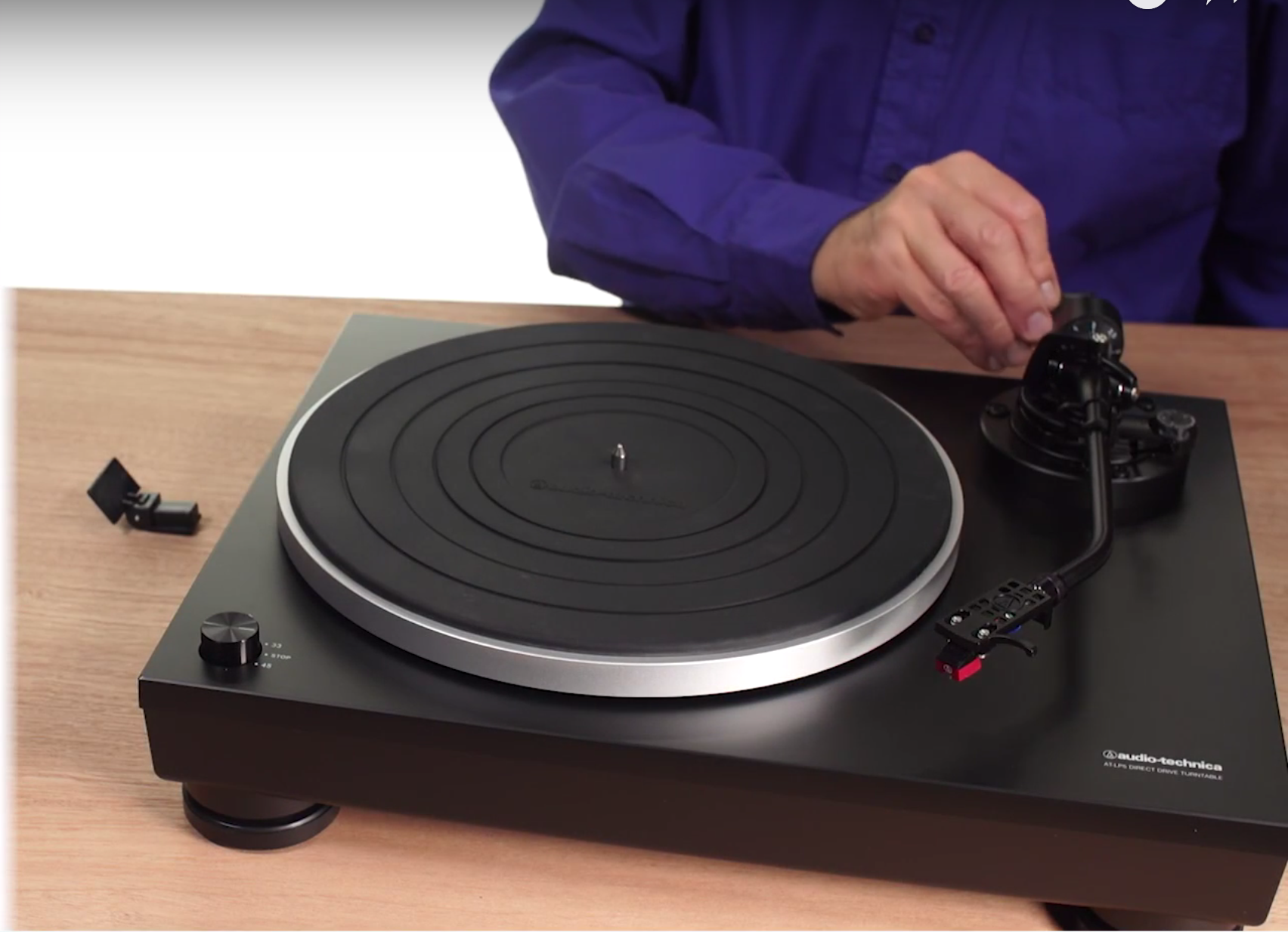 How Do I Set Up The At Lp5 Turntable Turntable Audio Technica Turntable Direct Drive Turntable